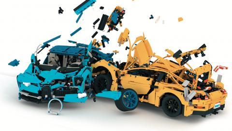c't Lego-Crashtest