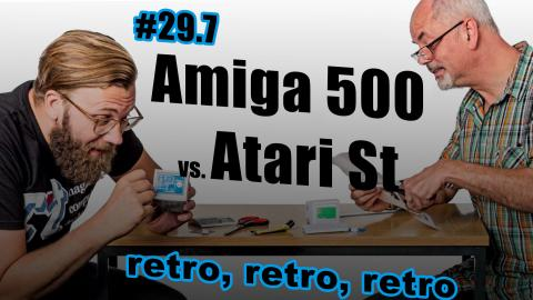 Amiga 500 vs. Atari ST, Apple II & Vectrex  c't uplink 29.7