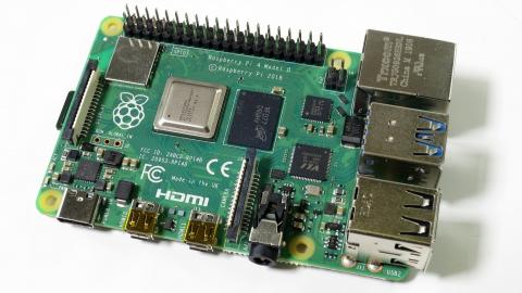 Raspberry Pi 4 Model B im c't-Labor
