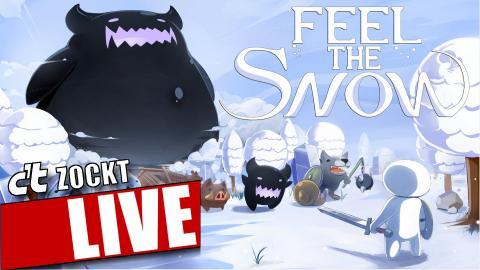 c't zockt LIVE: Feel the snow – Rätselhafte Ereignisse im Schnee