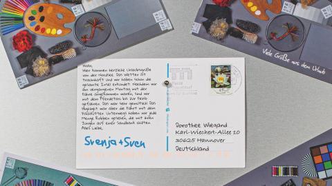 Android-Apps für den Postkartenversand