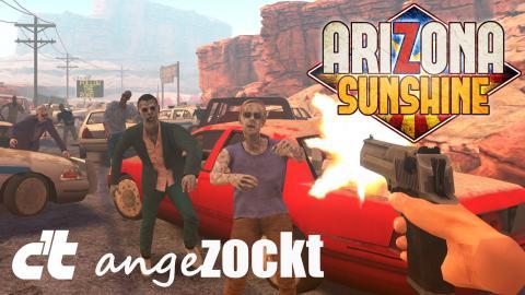 c't angezockt: Arizona Sunshine auf der Oculus Quest