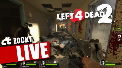 Left 4 Dead 2 live bei c't zockt