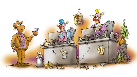 IT-Sicherheit: Von Clowns und Affen