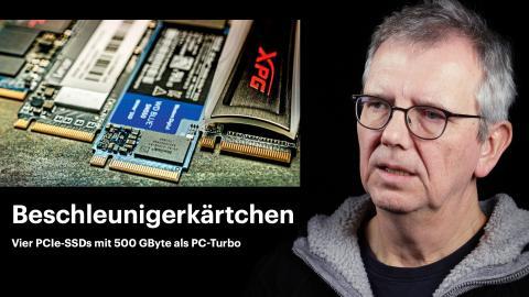 nachgehakt: Vier PCIe-SSDs mit 500 GByte als PC-Turbo