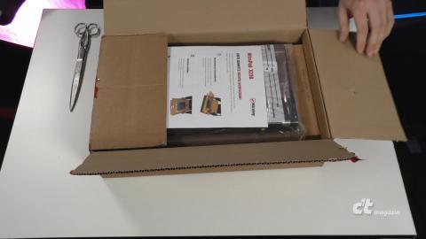 Hochsicherheits-Notebook NitroPad X230 ausgepackt