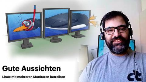 nachgehakt: Linux mit mehreren Monitoren betreiben