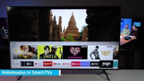 Hotelmodus in Smart-TVs