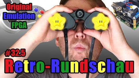 Retrogaming-Rundschau: Original, Emulation, FPGA  c't uplink 32.5