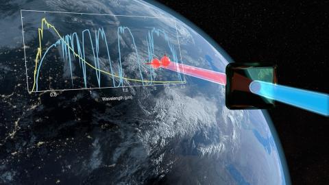 Infrarot-Photonen verteilen Quantenschlüssel am Tage