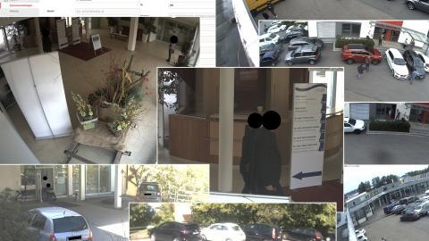 Ungeschützte Linksammlung leakt Überwachungsaufnahmen