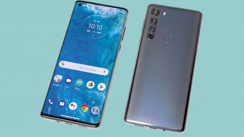 Android-Smartphone Motorola Edge mit bärenstarkem Akku, aber noch ohne 5G
