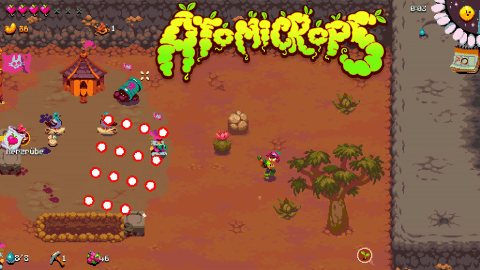 Indie-Game Atomicrops