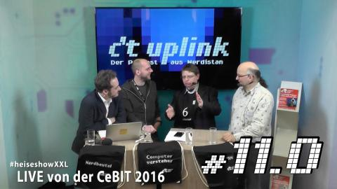 c't uplink 11.0: CeBIT, Android N, CarPlay, Android Auto