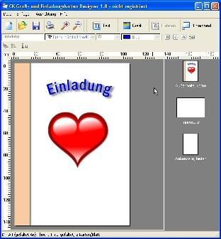 CK Gruß  Und Einladungskarten Designer