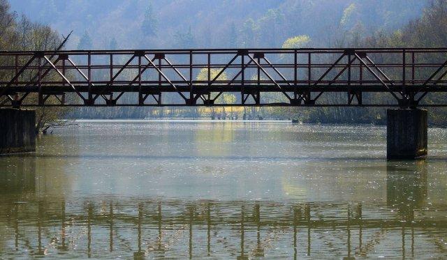 Brücke über die Altmühl. von oitamooo