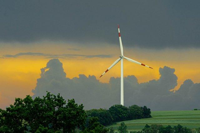 Rotor an Gewitterfront von dermaeus
