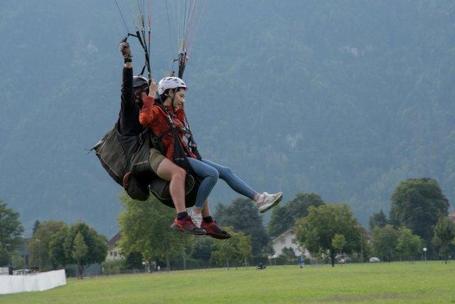 Paragliding von Kupfer43