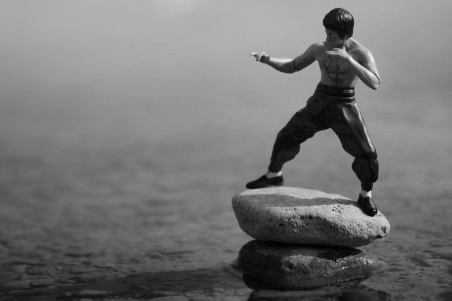 Training on Stone von tlufotos