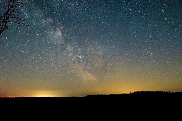 Milchstraße von sauerlinse