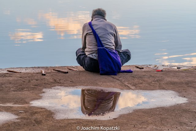 Angler am Morgen von Joachim Kopatzki