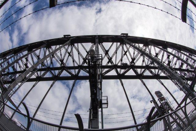 Harbour Bridge in der Mitte von clickfux