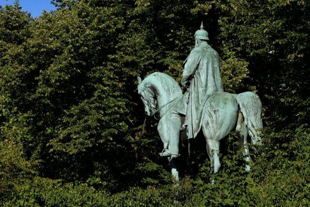 Bismarck im Park von Reiner von der Schlei