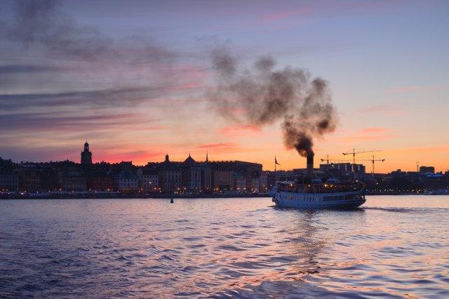 Stockholm bei Nacht - Ziel: Skeppsbrokajen von flössie