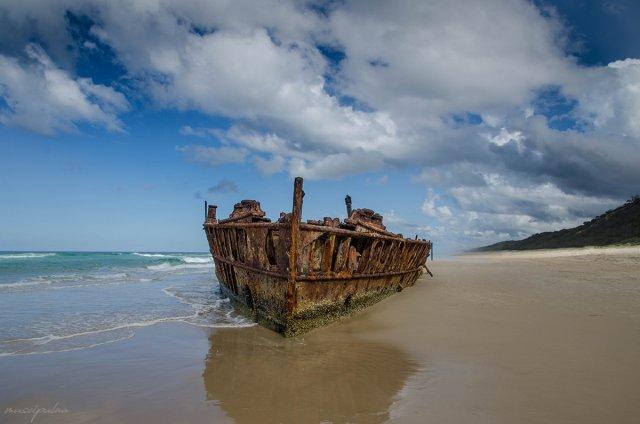 Maheno Wreck von muscipulaa