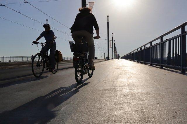 Rheinbrücke von Wolfgang Görgen