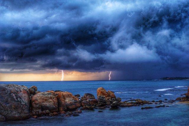 Blitze bei Galle Fort von bibabasti