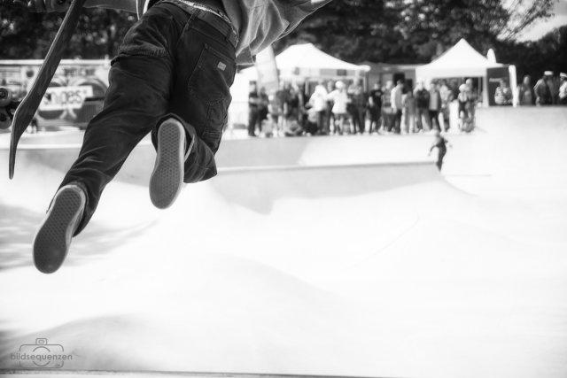 Skatecontest von bildsequenzen