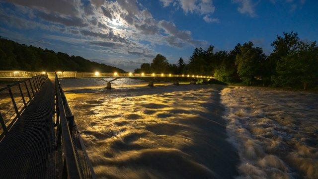 Hochwasser von 35mm