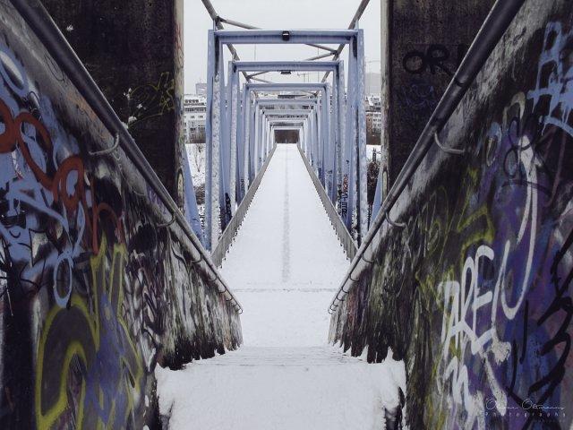 Graffiti-Treppe von MoBIoS