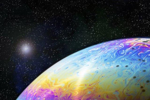 Bubble Planet von Thomas Louis