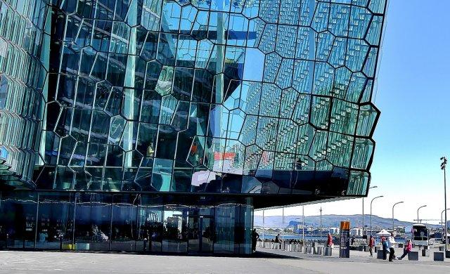 Eingang zur Oper in Reykjavik von RüdigerLinse
