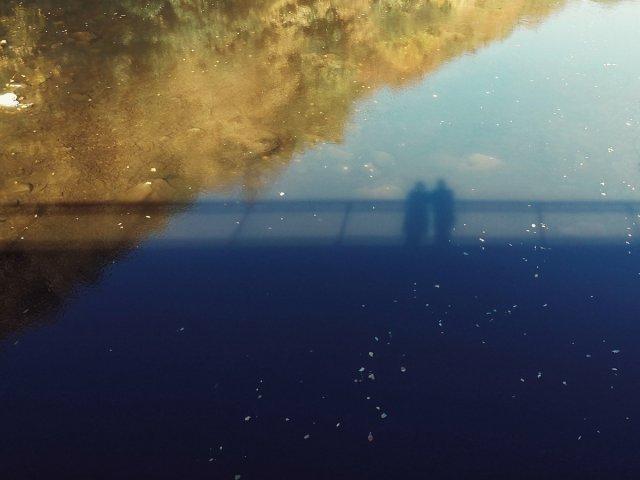 Im Herbst auf der Brücke von kahekl