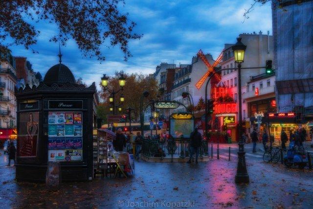Novembertag in Paris von Joachim Kopatzki