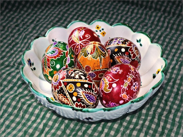 Traditional easter eggs from Hungary von FMW51