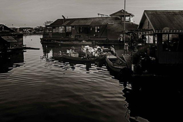 Floating Village Kambodscha 5 von Andrea Künstle
