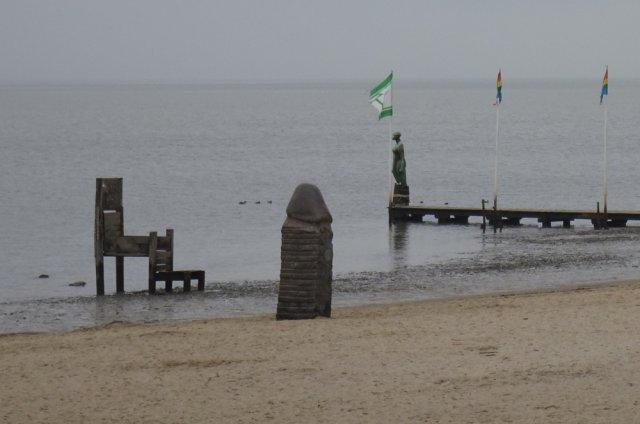 Kunstsammlung am Strand (2) von AUde-Vide