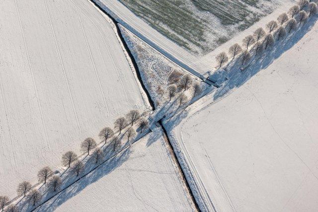 Winterallee von Joachim Kopatzki