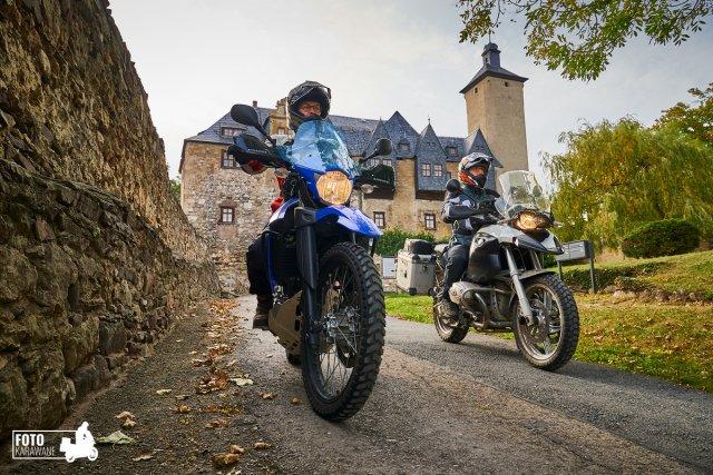 Burg Ranis in Thüringen von fotokarawane