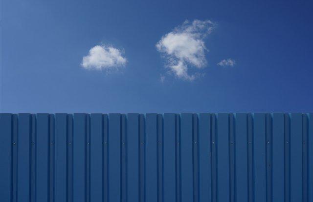 Blau über Blau von Frauke T.