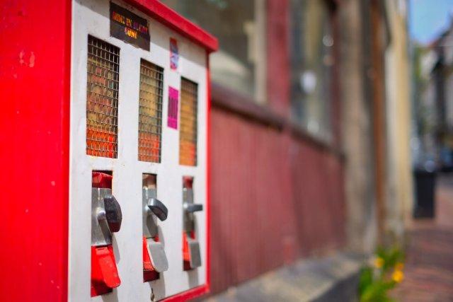 Kaugummiautomat von Peter Kryzun