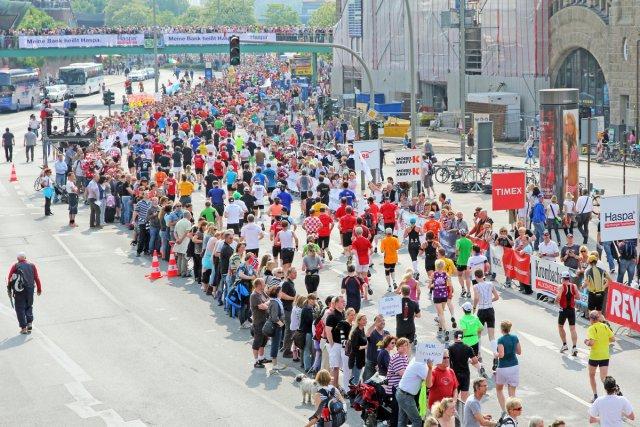 Hamburg Marathon von Reiner von der Schlei