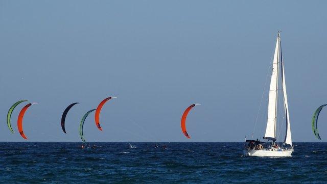 Kitsurferinnenschule von Raniluc