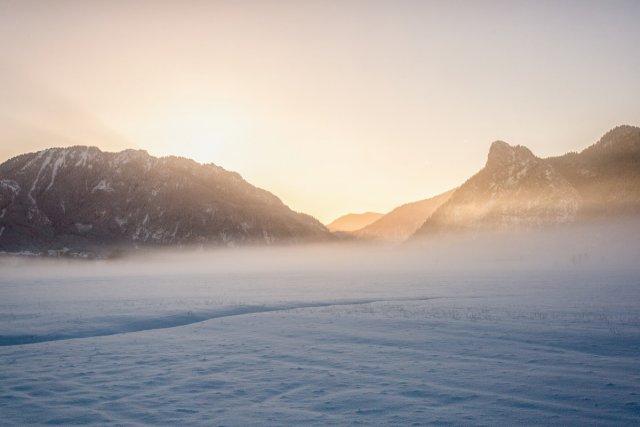 Sonnenaufgang im Ammertal von Tarcitaxx