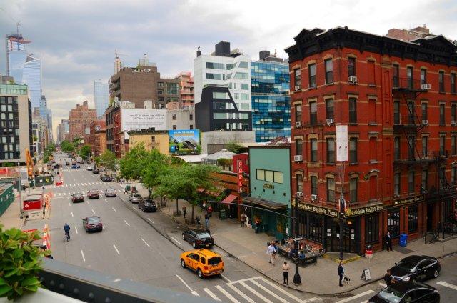 Blick vom High Line Park von Jürgen Merkel