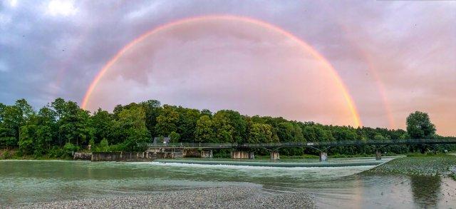 Regenbogen von 35mm